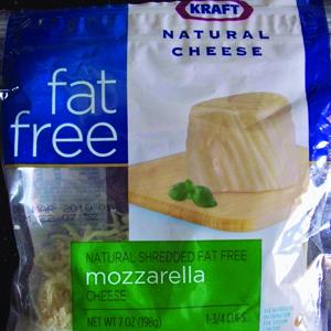 Kraft Fat Free Mozzarella Cheese