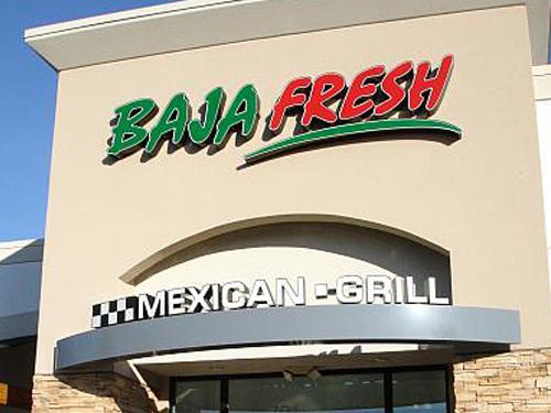 Sample Sign Baja Fresh