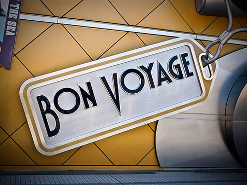 Sample Sign Bon Voyage