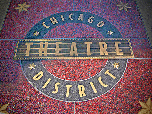 Sample Sign Chicago Theatre
