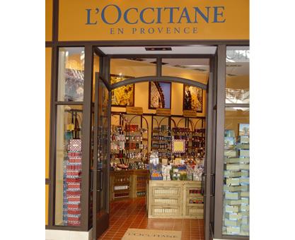 storefront for loccitane