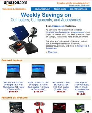 Amazon Marketing Examples