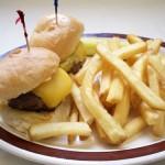 Mini Burger Royalty Free Photo