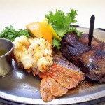 Surf and Turf Royalty Free Photo