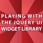 JQuery Widgets
