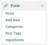 Wordpress Taxonomy