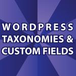 Wordpress Get Taxonomies