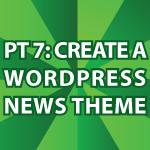 Wordpress News Theme 7