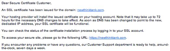 Go Daddy SSL Certificate Setup 7