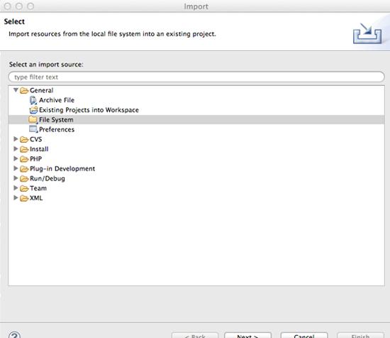 Install Java Library 4