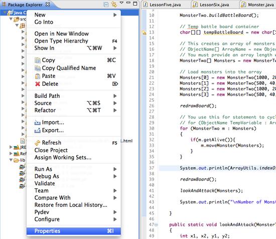 Install Java Library 6