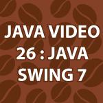 Java JSpinner