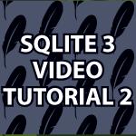 SQLite3 Tutorial 2