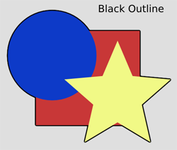 ABCs Black Outline
