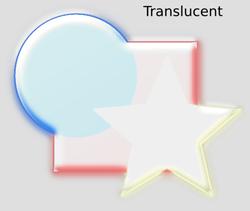 Bevels Translucent