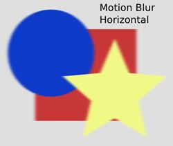 Blurs Motion Blur Horizontal