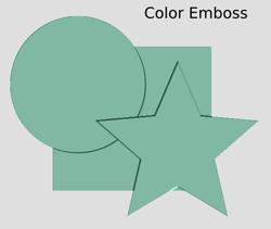 Bumps Color Emboss