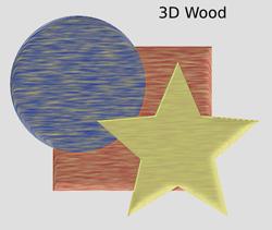 Materials 3D Wood