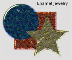 Materials Enamel Jewelry