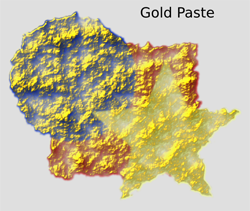 Materials Gold Paste