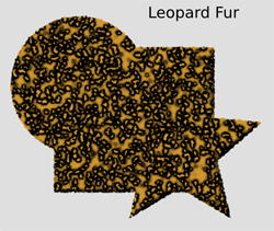 Materials Leopard Fur