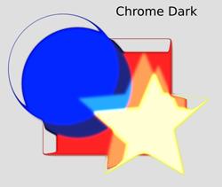 Non Realistic 3D Shaders Chrome Dark