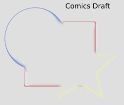 Non Realistic 3D Shaders Comics Draft