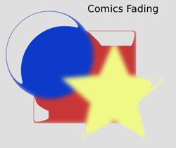 Non Realistic 3D Shaders Comics Fading