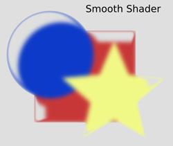 Non Realistic 3D Shaders Smooth Shader