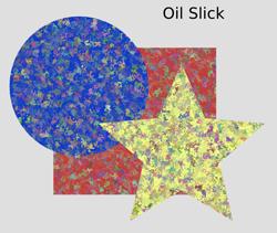 Overlays Oil Slick
