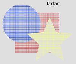 Overlays Tartan