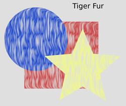 Overlays Tiger Fur