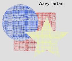 Overlays Wavy Tartan