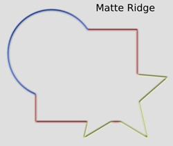 Ridges Matte Ridge
