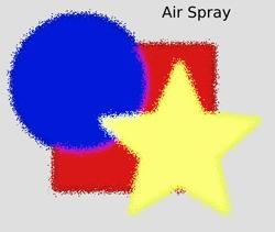 Scatter Air Spray