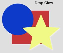 Shadows and Glows Drop Glow