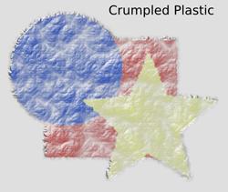 Textures Crumpled Plastic