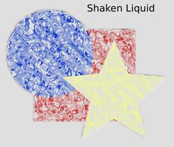Textures Shaken Liquid