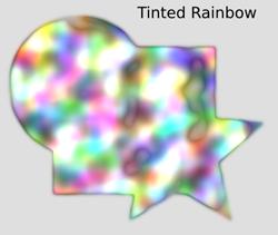Textures Tinted Rainbow
