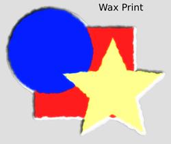 Textures Wax Print