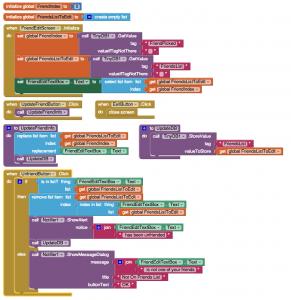 App Inventor Use Database Multiple Screens