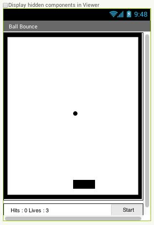 App Inventor Pong Design