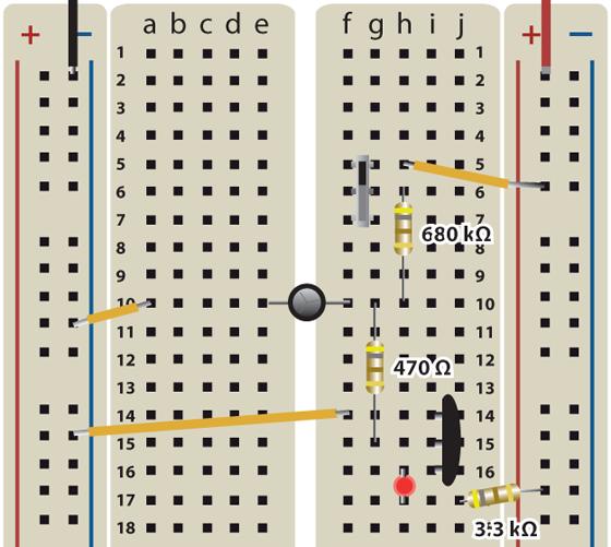 Capacitor Plus Transistor