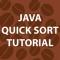 Java Quick Sort