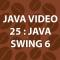 Java Video Tutorial 25