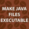 Make Java Executable