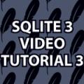 SQLite3 Tutorial 3