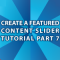 WordPress Featured Content Pt 7